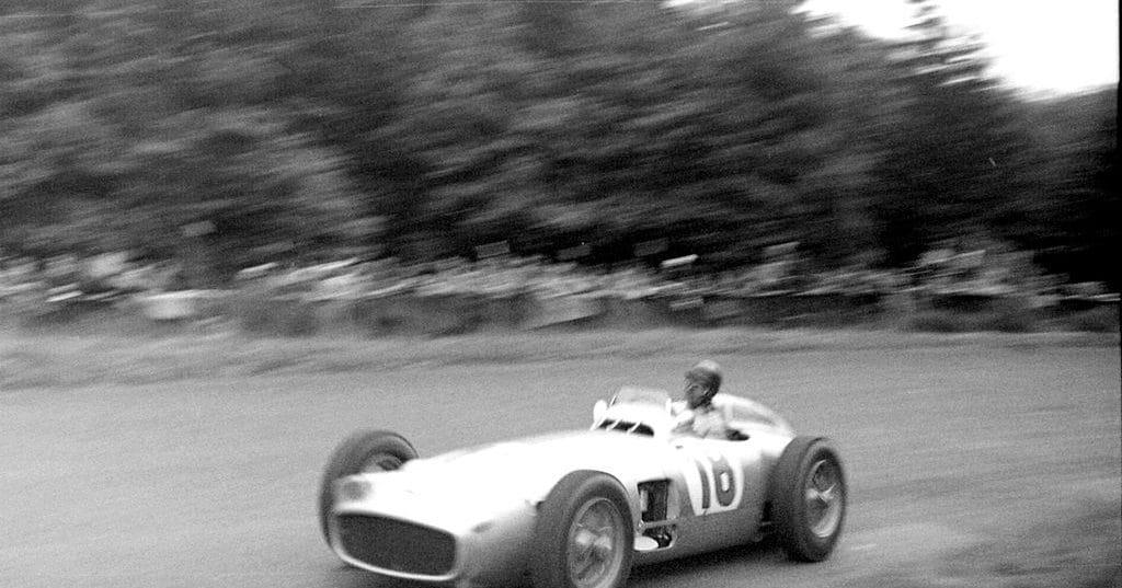 Juan Manuel Fangio en 1954 à Nürburgring